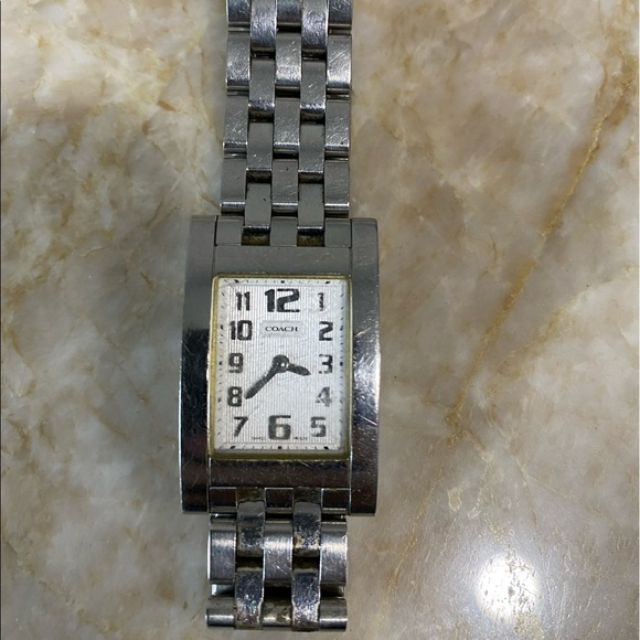 Coach women's watch Silver